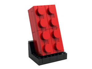Lego® 6313291 VIP Roter Baustein 2x4 Brick Stein 5006085 GWP brandneu OVP