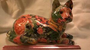 VINTAGE DECORATIVE CAT FIGURINE