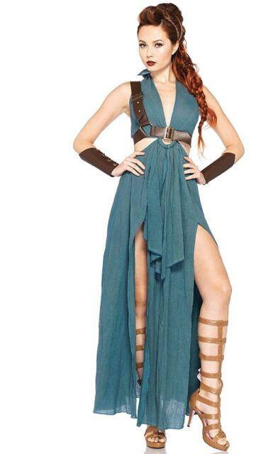 Size S Small Leg Avenue 8943 Adult Women/'s 4 Piece Renaissance Maiden Costume