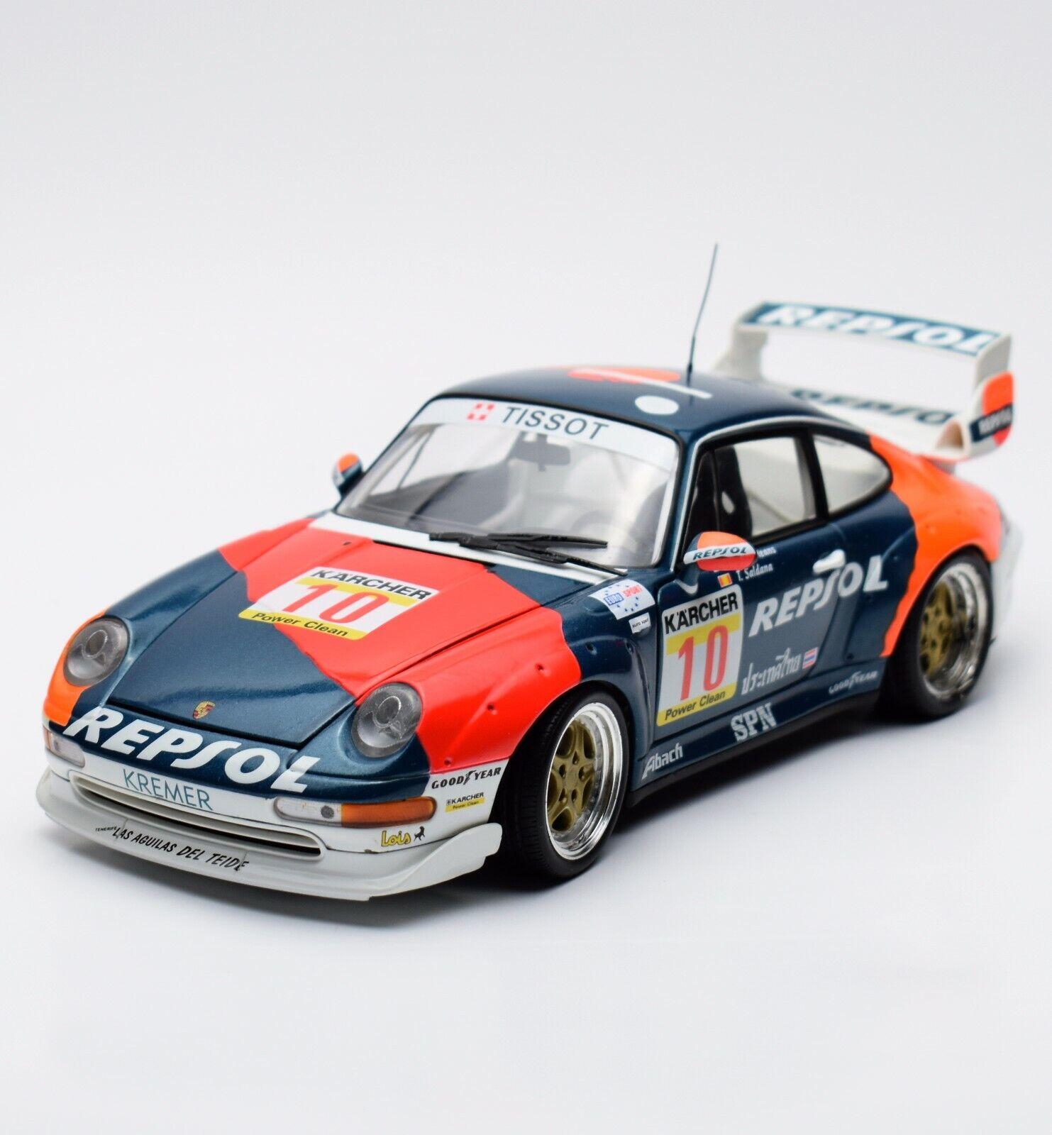UT 39632 Porsche 911 GT2 1996 A DE ORLEANS T. Saldana  10, 1 18, OVP, K012