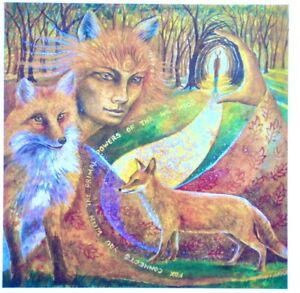 Wendy-Andrew-fox-maiden-animal-love-rescue-Greetings-birthday-Card-mother-wise