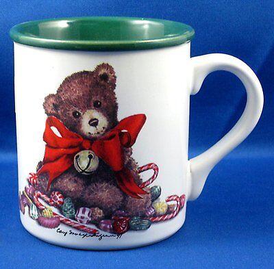 Vtg Sweet Teddy Bear Coffee Mug Xmas 1991 Potpourri Press Cary Savage Ingram Ebay