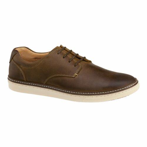 Johnston /& Murphy Casual Shoes MCGUFFEY Plain Toe Tan Full Grain Leather 25-16