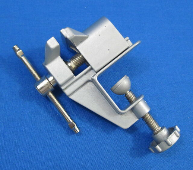 Mini Aluminum Table Clamp Vice - Hobby Craft Jewelry Model Making RC Car Plane