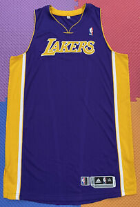 Lakers team issued 3XL 4 Authentic pro cut Jersey blank Kobe ...
