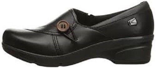 Keen Para Mujer Estilo De Zapato Negro Mora Mid botón botón botón 1015037 Talla 7 M  El ultimo 2018