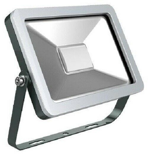 Haneco LUCIDOV2 LED FLOODLIGHT 130x92x26mm 10W 700lm 5000K Aluminium, Weiß