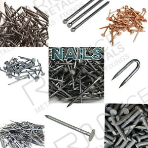 COPPER CLOUT QUALITY ROOFING NAILS TREE STUMP REMOVAL 30mm 40mm Copper Nails