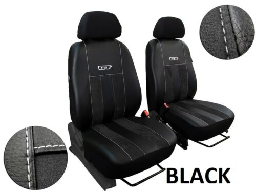 MERCEDES SPRINTER Mk2 1+1 2000-2006 ECO LEATHER /& ALICANTE SEAT COVERS TAILORED