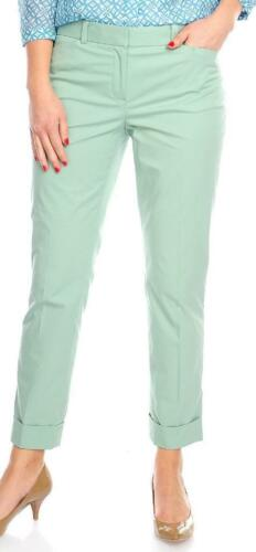NEW Brooks Brothers Stretch Cotton Ankle-Length Tapered Leg Cuffed Pants 4,6,8
