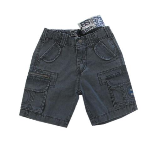 Boy Star BSTR73 Hosen kurze Hose Bermuda Dunkelgrau Jungen Gr.98,122,128