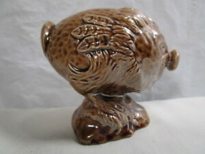 Whisky Flasks Beswick Beneagles Scotch Whiskey Flying Haggis Decanter Empty Pottery