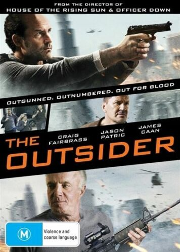 1 of 1 - The Outsider (DVD) Outgunned. Outnumbered. ACTION [Region 4] NEW/SEALED