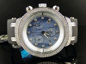 Uhren & Schmuck Ausdauernd Joe Rodeo Jojo Blau Meister Diamant Armbanduhr 2.2ct Ct Jjm29 Hochglanzpoliert Armbanduhren