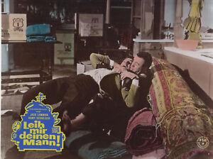 Leih-mir-deinen-Mann-Kinoaushangfoto-64-Romy-Schneider-Jack-Lemmon