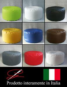 POUF-POUFF-PUFF-TONDO-MORBIDO-GRANDE-ARREDAMENTO-ECO-PELLE-DESIGN-MADE-IN-ITALY
