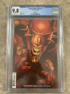 Batman-Who-Laughs-6-Jenny-Frison-Variant-Cover-DC-9-8-CGC-Hot-Fast-Shipping