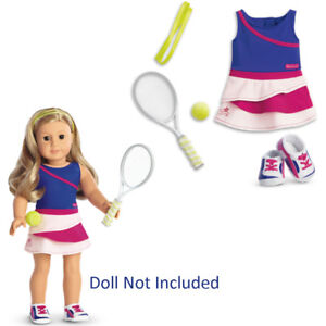 5fe273546d892 Details about American Girl TRULY ME TENNIS ACE OUTFIT for 18