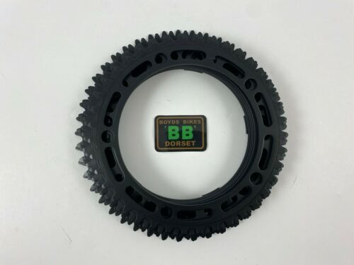TIOGA Black 39 40 41 42 43 44 45 Re-Anodised NOS Chainring Old School BMX 130BCD