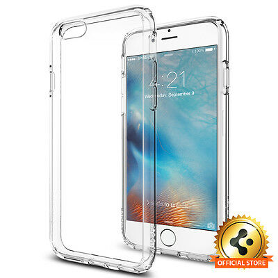 Spigen® [Ultra Hybrid] Apple iPhone 6s Shockproof Case Clear TPU Bumper Cover