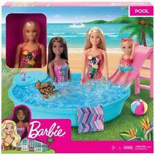 Mattel Barbie Blonde Doll and Pool Playset GHL91