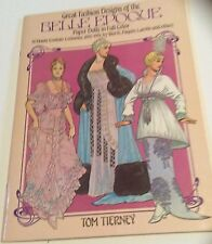 Paper Dolls - Fashion Designs of Belle Epoque (1890-1919) by Worth, Lanvin, etc.