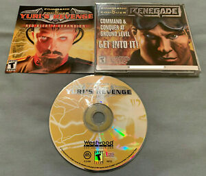 Command-amp-Conquer-Yuri-039-s-Revenge-Red-Alert-2-Expansion-PC-Computer-CD-Game-w-Key