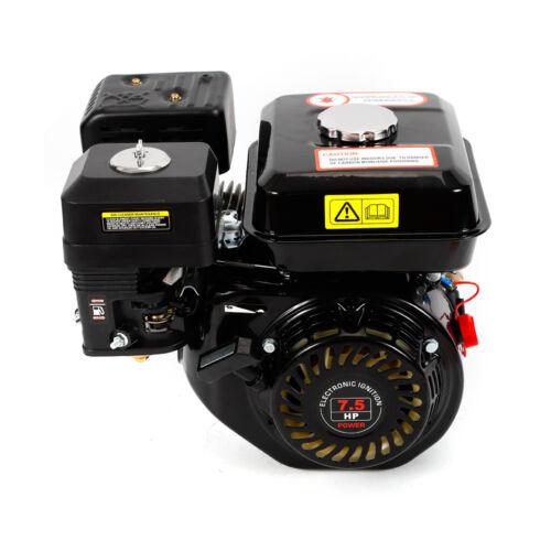 4 Takt Benzinmotor 7.5 PS Rückzugstarter Sandmotor Kartmotor Bootsmotor ZT210 DE