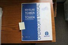 New Holland Tc48da Amp Tc55da Operators Manual 2004