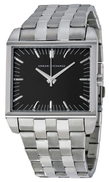 d76e847313f Armani Exchange Men s Stainless Steel Bracelet Watch 32x38mm AX2213 ...