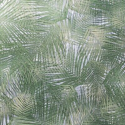 3 D Floral Tropical Palm Leaves Wicker Bamboo Green Silver Textured Wallpaper 3d Ebay This is optional of course, but it really adds great details. ebay
