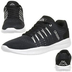 Kappa-Nexus-Baskets-Unisexe-Chaussures-de-Tennis-Noir