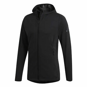 Details about Adidas Mens Freelift Climacool Hoodie Sports Track Top Black CZ5290