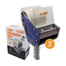 Tape King Tx300 3 Inch Wide Packing Tape Dispenser Gun Plus 1 Free Roll Of