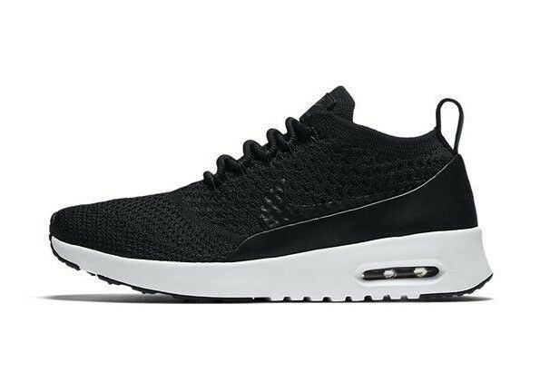 Da Donna Nike Air Max Thea Ultra Flyknit Pinnacle EUR 36.5 881174 001 NERO)