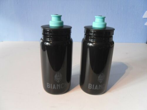 BIANCHI 2019 Water Bottle Fly Nero Leggero X 2