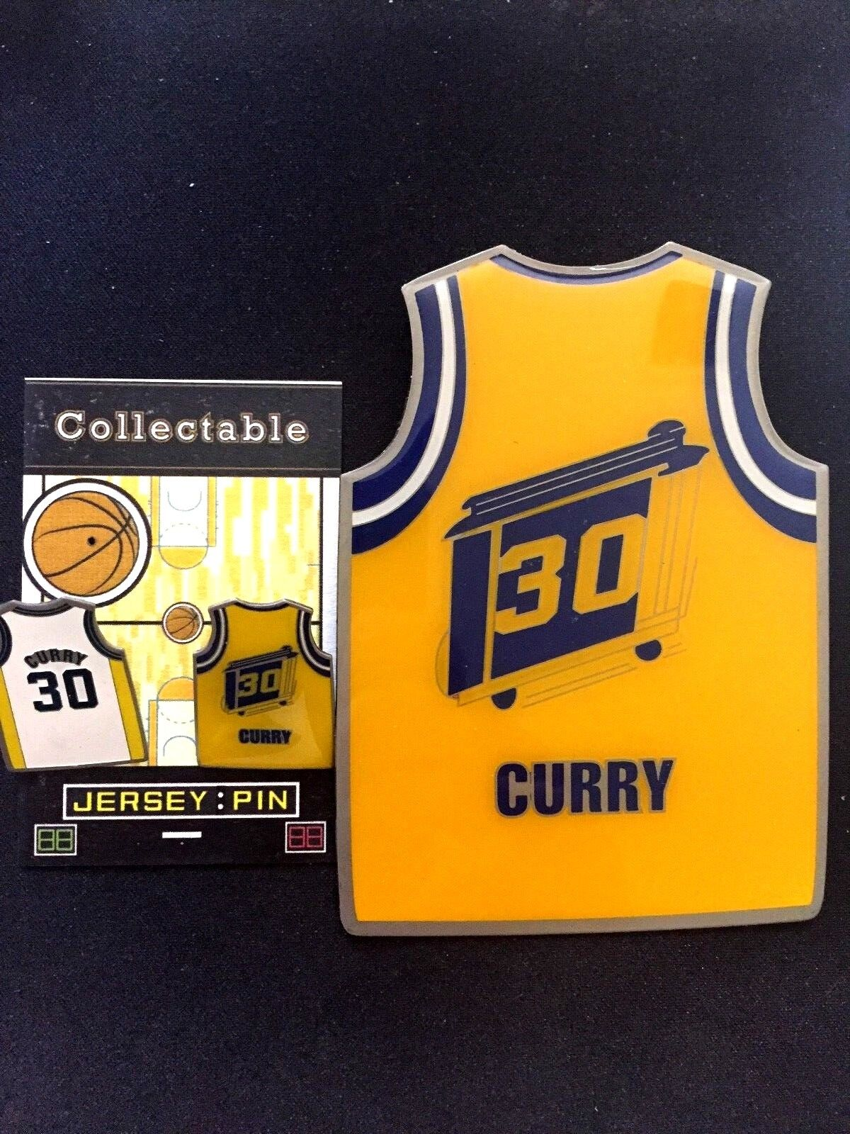 Golden State Warriors Stephen Curry Curry Curry Revers Stifte- (3) -dub Collectibles-Best 7b2498