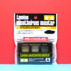 Tamiya-87079-Weathering-Master-set-A-Sand-Light-Sand-Mud-u