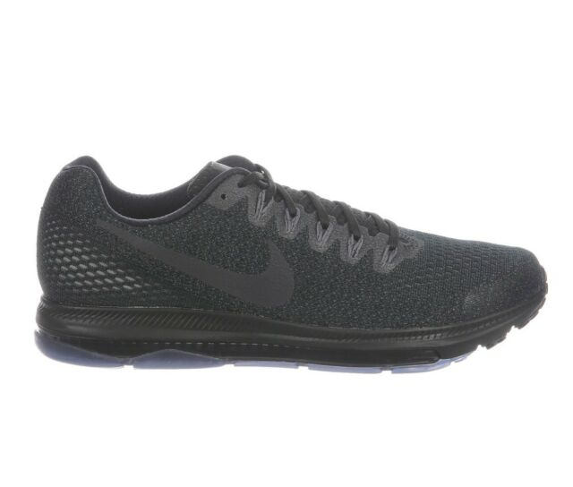 0d440e10ca290 Nike Zoom All Out Low Mens 878670-011 Black Aura Grey Running Shoes Size 7
