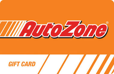 $100 AutoZone Physical Gift Card