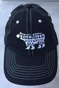 4518563bd Details about Yosemite National Park Embroidered Bear Logo Adult Baseball  Cap / Hat