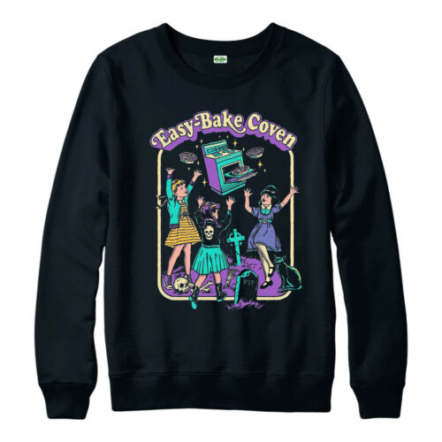 Witch Aesthetic Jumper Easy Bake Oven R.I.P Dread Scary Gift Top