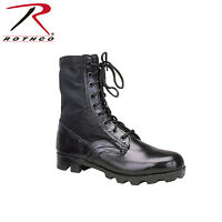 "5081 Rothco G.I. Style Jungle Boots - ""Panama"" Sole -  Black"