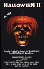HALLOWEEN II 2 Movie Poster Horror Michael Myers Slasher