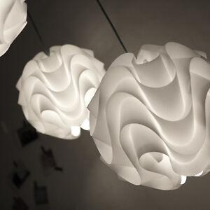 modern 172 pendant light for le klint white plastic shade pvc lamp