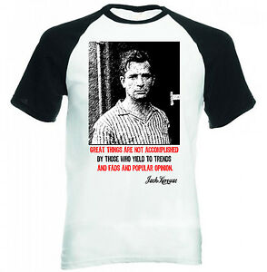 JACK-KEROUAC-QUOTE-NEW-BLACK-SLEEVED-BASEBALL-TSHIRT-S-M-L-XL-XXL
