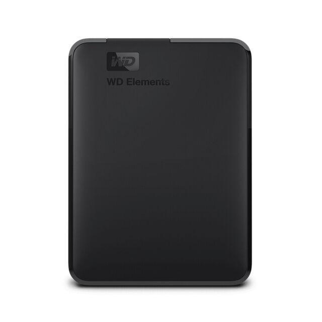 Western Digital Hard Disk Esterno Portatile USB 3.0 2TB Nero WDBU6Y0020BBK-WESN