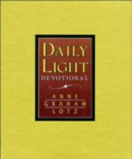 Daily Light Devotional (Burgundy Leather), Anne Graham Lotz, Acceptable Book