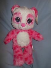 "Build A Bear SWEET SCENTS PANDA Pink White 16"" NWT Candy Scented Valentine Day"