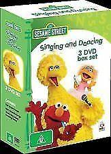 Sesame Street - Singing and Dancing (3 DVD Box Set)--